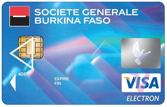 Carte Visa Classic Societe Generale.Carte Tulipe Visa Societe Generale Burkina Faso